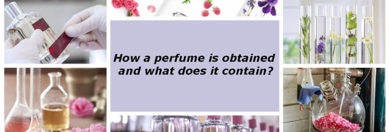 how a perfume is produced what does a perfume contain