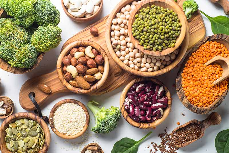 Best foods with vegetable protein for your recipes