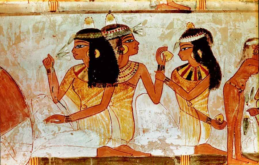 Drawing Perfumes in Ancient Egypt